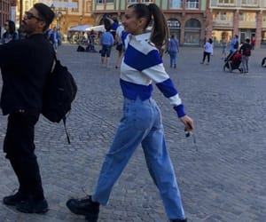 fashion, outfit, and bella hadid image