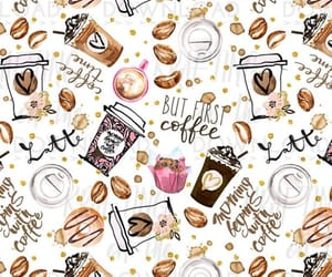 wallpaper and coffee image