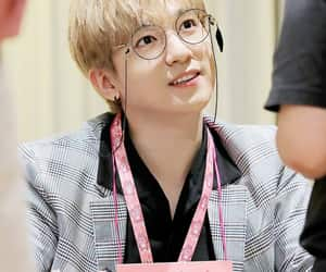 blonde hair, glasses, and 데이식스 image