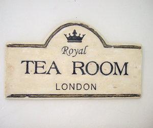 london, tea, and vintage image