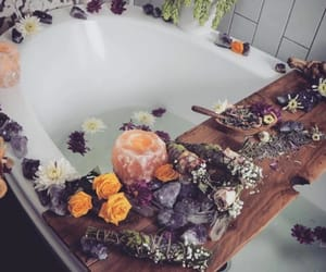 bath, blogger, and candles image