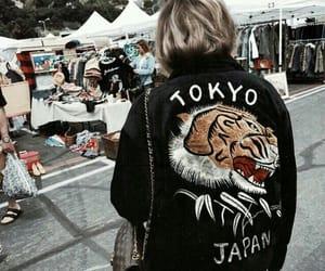 tokyo, girl, and japan image
