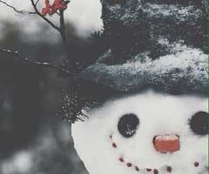 snowman and winter image