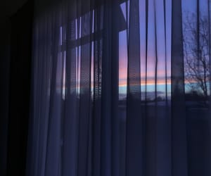 beautiful, curtain, and nature image