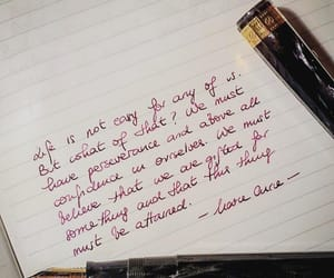 cursive, Letter, and quote image