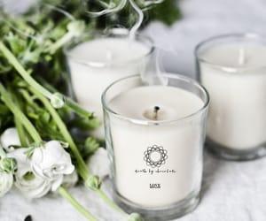 candles, christmas, and green image