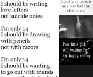 dead, truth, and suicide notes image