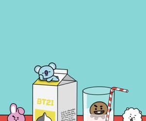bt21, bts, and tata image