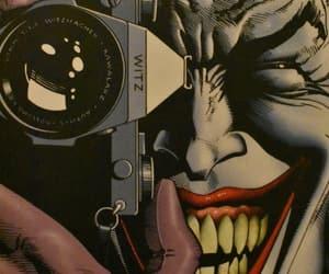 batman, joker, and comics image