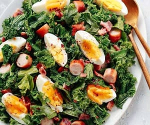 Easy Kale Breakfast Salad Recipe