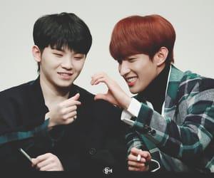 DK, Seventeen, and jihoon image