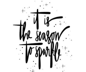 christmas, sparkle, and quote image