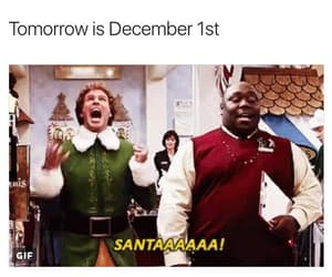 christmas, december, and elf image
