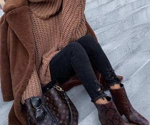 fashion, boots, and brown image