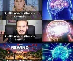 youtube and pewdiepie image