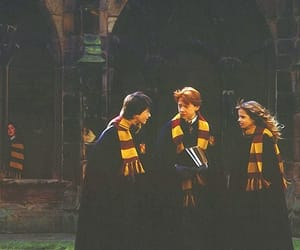 harry potter, hermione granger, and hogwarts image
