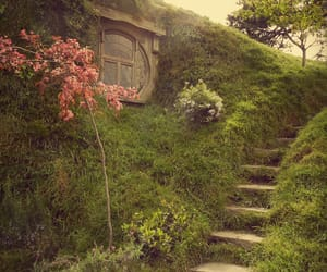 green, hobbit, and nature image