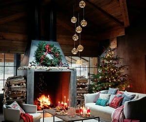 christmas, christmas tree, and decoracion image