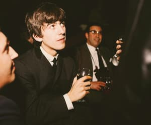 george harrison and the beatles image