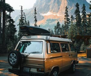 travel, mountain, and trees image