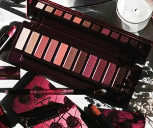 eye shadow, makeup palette, and urban decay image