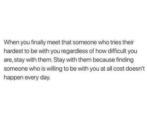 When you finally meet  someone