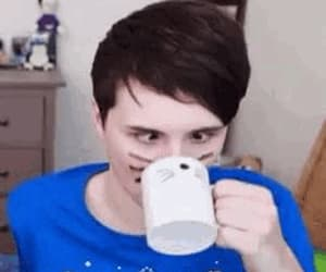 gif, dan and phil, and daniel howell image