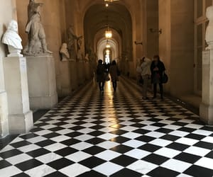 art, chateau, and chessboard image