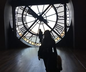 clock, france, and montre image