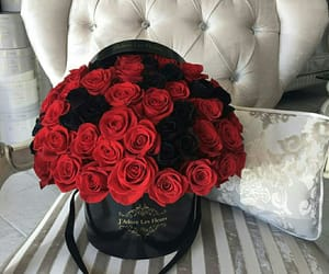 belleza, flores, and regalo image