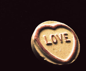 candy, romance, and heart image