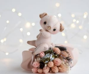 bear, gifts, and pig image