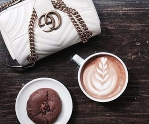coffee, gucci, and fashion image