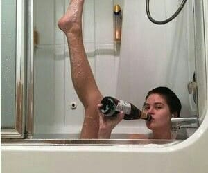 90s, bitch, and shower image
