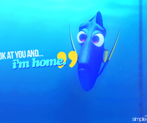 dory, finding nemo, and quote image