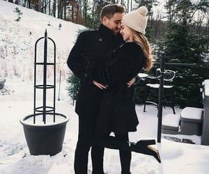 couple, fashion, and love image