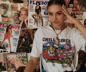 fashion, style, and magazine image