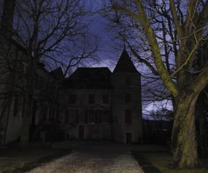 chateau, photographie, and nuit image