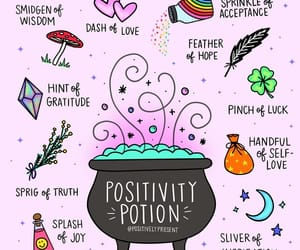 positivity, smile, and words image