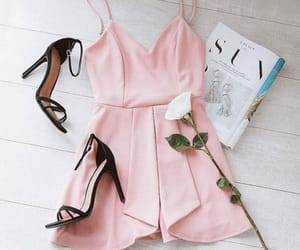 dress, beauty, and moda image