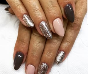 glitter, lovely, and nails image