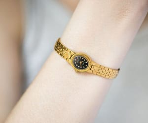 etsy, black face watch, and montre femme image