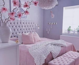 home, bedroom, and pink image