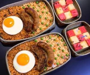 bento box, food, and asian food image