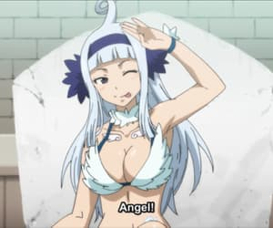angel, fairy tail, and anime image