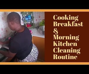 video, clean with me, and morning routine image