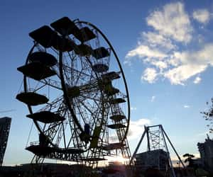 cool, cute, and ferriswheel image