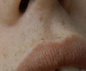 lips, skin, and freckles image