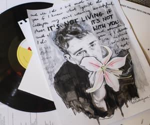art, Lyrics, and sketch image