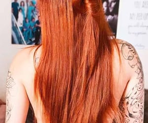 ginger, girl, and long hair image